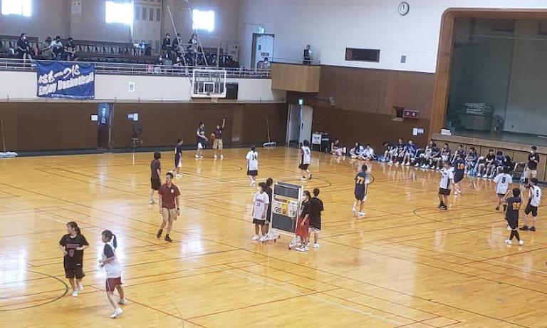 バスケットボールイベントを開催