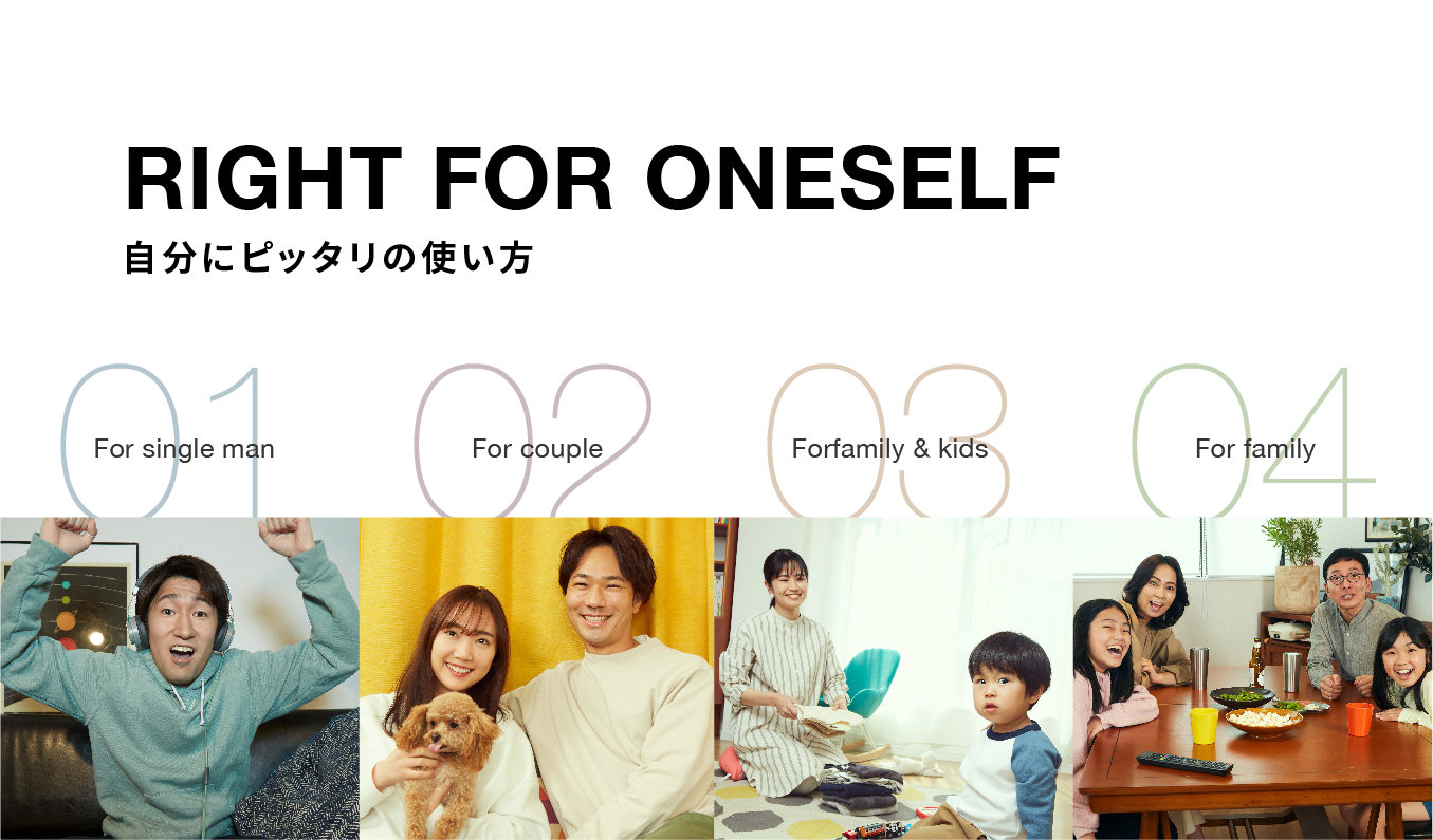RIGHT FOR ONESELF