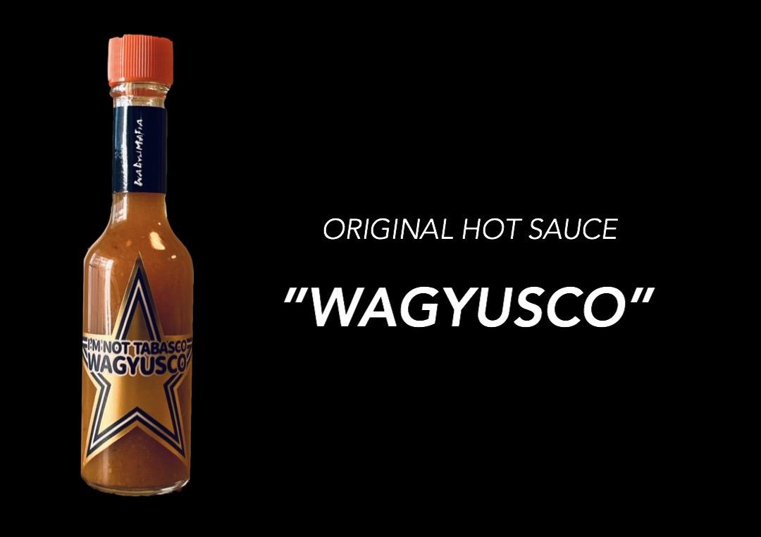 オリジナルホットソース「WAGYUSCO]