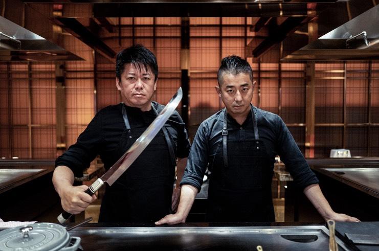 和牛商 浜田寿人氏と実業家であり美食家としても有名な堀江貴文氏