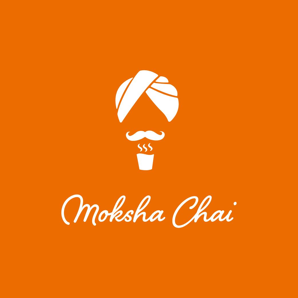 モクシャチャイのオレンジ色のロゴ