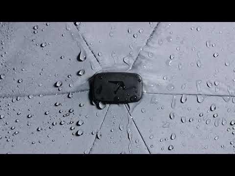 強風でも片手で楽々! 手の平さサイズの軽量・コンパクト・晴雨兼用傘 Senz゜