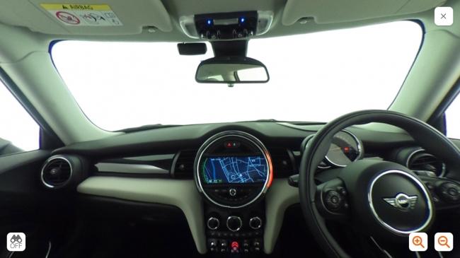 車の内装360°View