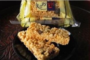 300年以上の歴史ある銘菓「へこはずしおこし」(長崎県大村市)