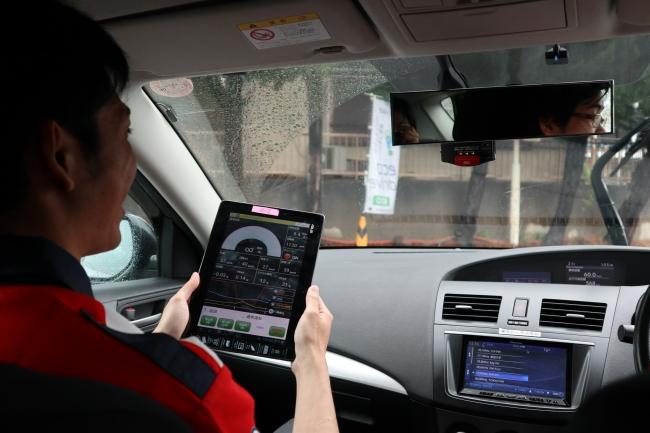 現在の参加者の運転方法で燃費データを計測