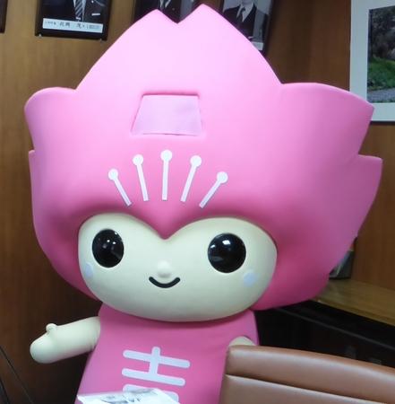 吉野町マスコットキャラクター「ピンクルちゃん」