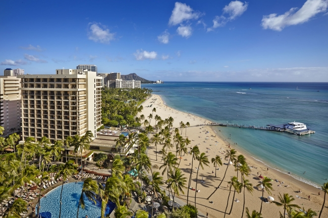 ザ・アリイ外観(C) Hilton Hawaiian Village