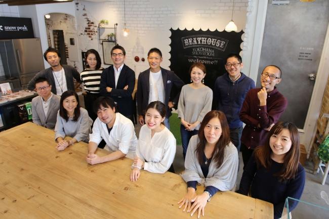 経営メンバーとマーケティングチーム