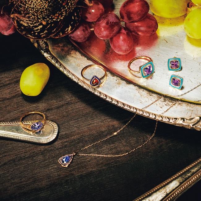 ring 37,000yen necklace 36,000yen ring 25,000yen ring 37,000yen pierced earrings 37,000yen