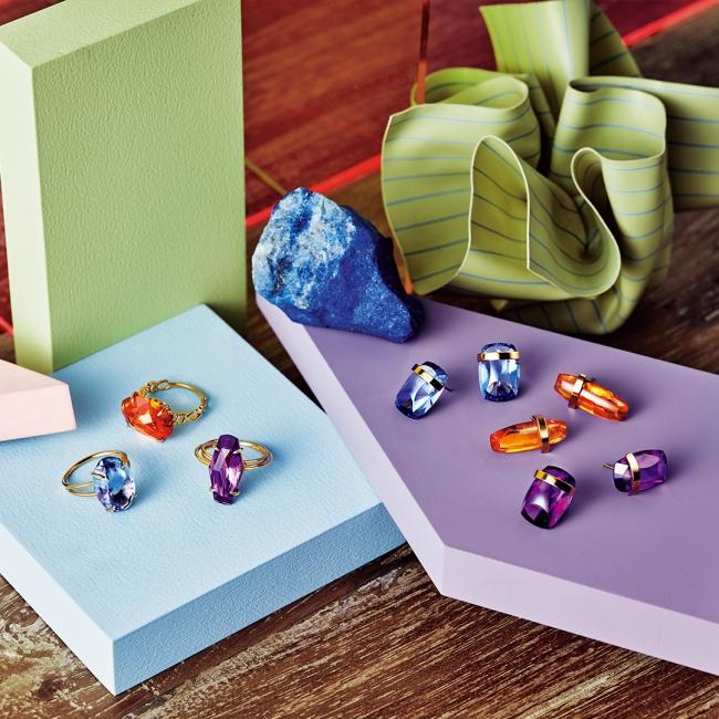 ring 12,000yen each pierced earrings 12,000yen each