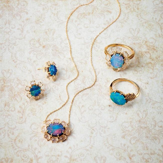 pierced earrings 90,000yen necklace 85,000yen ring 85,000yen ring 83,000yen