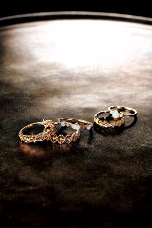 from left ring 27,000yen 34,000yen 33,000yen pinky ring 22,000yen 22,000yen