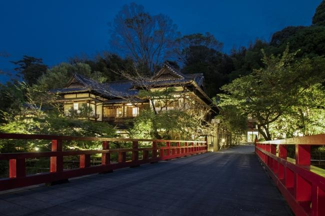 富士屋旅館 夕景