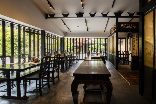 レストラン「瓢六亭」
