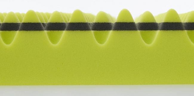 特殊立体波形凹凸構造