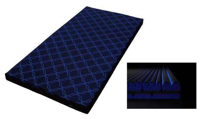 西川の4層特殊立体構造マットレス