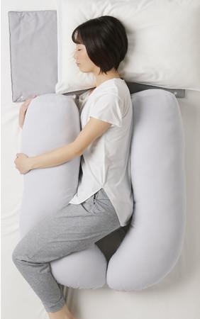 Laxia 横向き寝専用抱き枕
