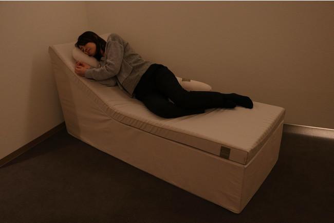 入眠:リラックスしやすい環境