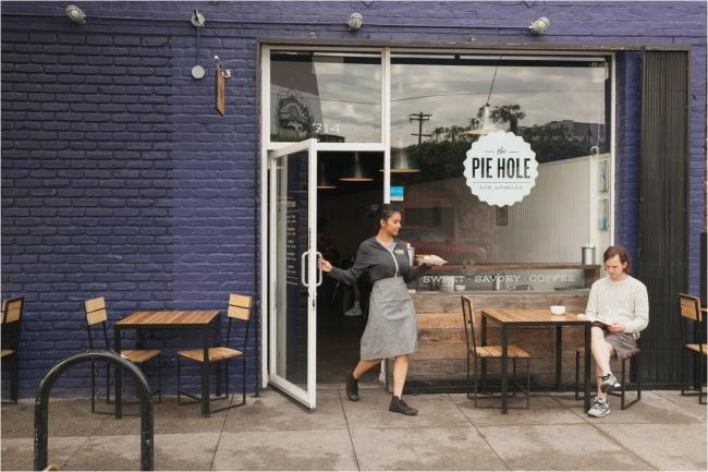 The Pie Hole Los Angeles 新宿ルミネ コーヒー パイ