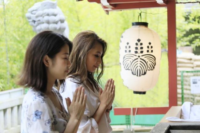 來宮神社参拝