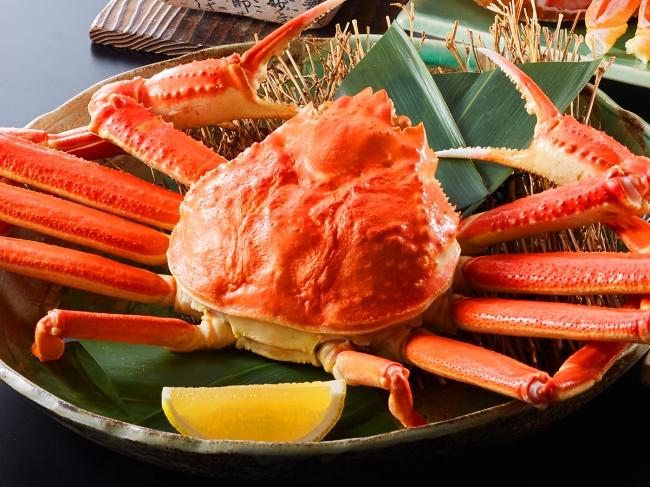 プレゼントの蟹(イメージ)