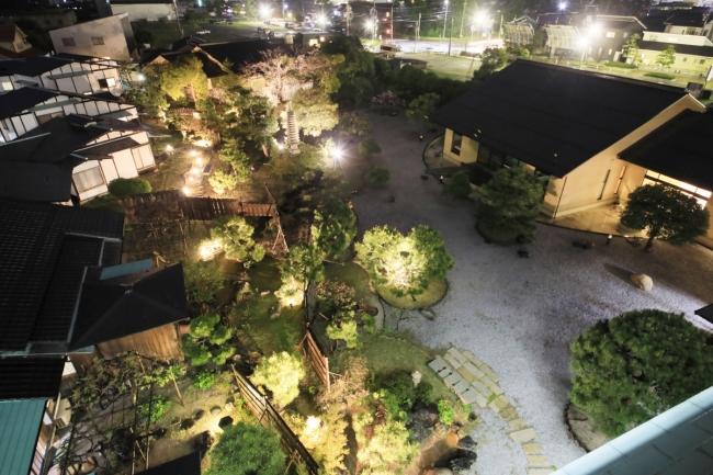 日本庭園を愉しむ八尾土