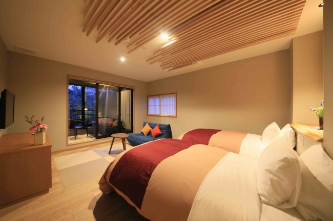 ソファやベッドなどの家具にもこだわりを