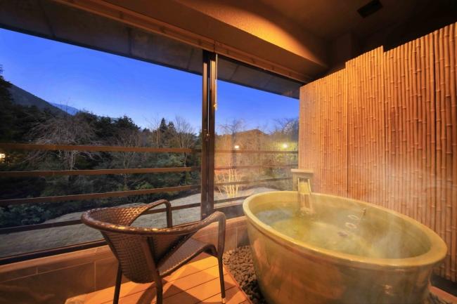 箱根十七湯のひとつに数えられる強羅温泉