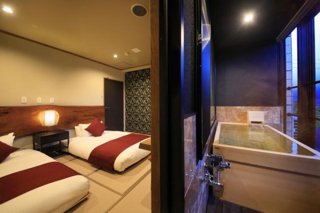 大文字山眺望のお部屋もございます