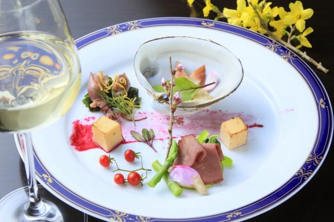 風雅流創作和食会席の前菜イメージ