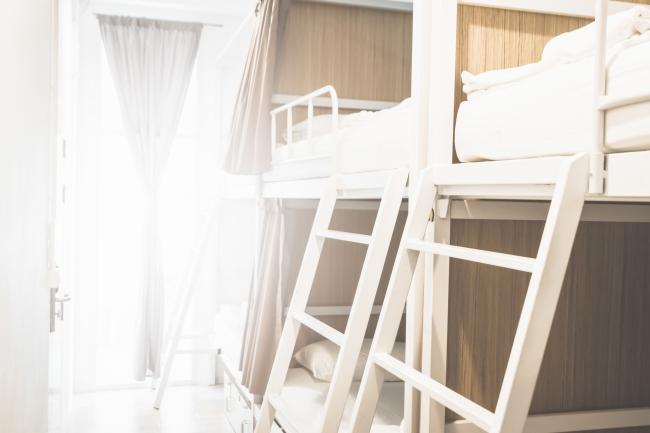 低価格で宿泊できるドミトリータイプもございます
