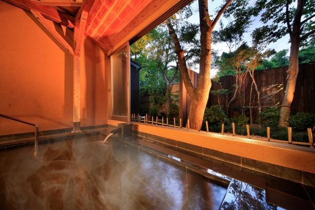 温泉でのんびりリラックス