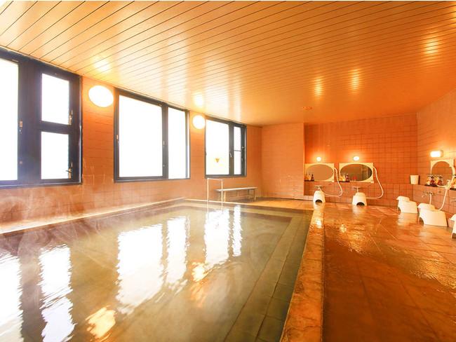 美肌の湯を愉しめる大浴場