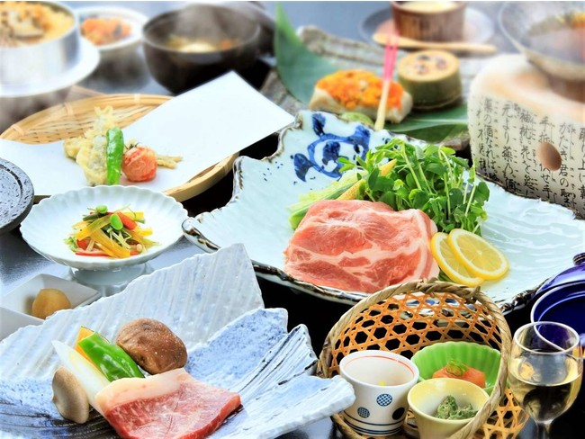 旬の素材を使った創作和食 ※イメージ