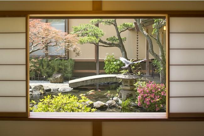 四季を愉しむ日本庭園(ゆがわら風雅)