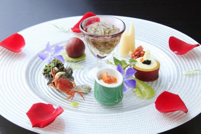 熱海TENSUI前菜イメージ