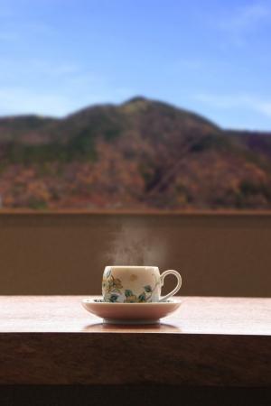 カフェからの眺望