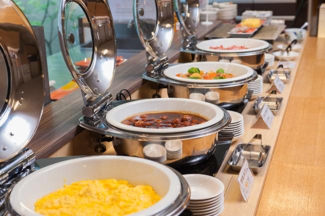朝食バイキング(ゆとりろ洞爺湖)