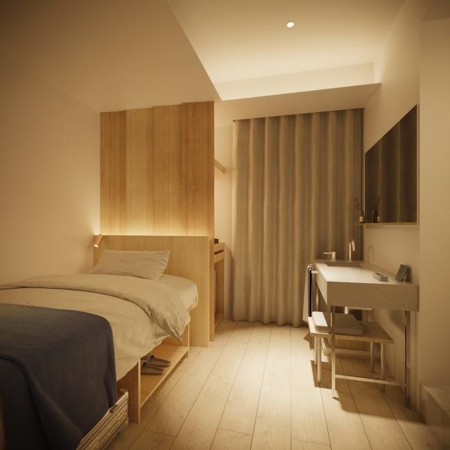 シングルベッドルーム