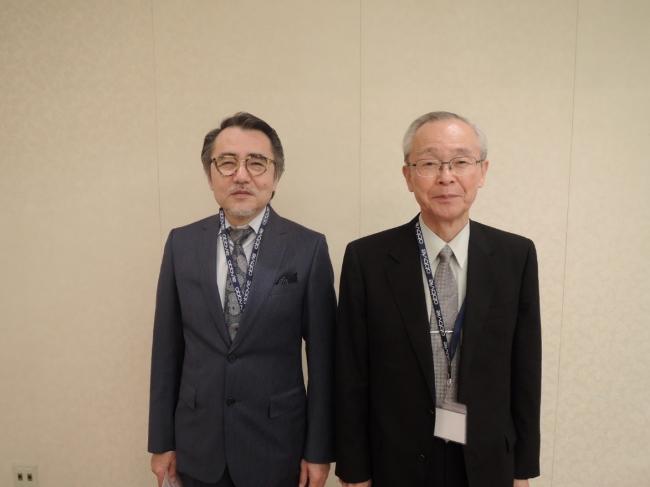 左より、別府ガーデンヒルクリニック くらた医院 院長の倉田 荘太郎先生、大分大学医学部 客員教授の板見 智先生