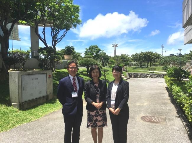 左より、峰松先生、真田先生、玉井先生