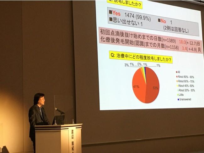 講演中の渡辺 隆紀先生