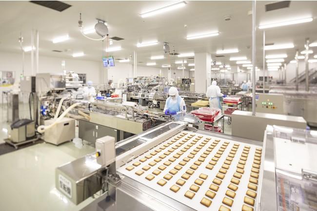 石屋製菓の北広島工場