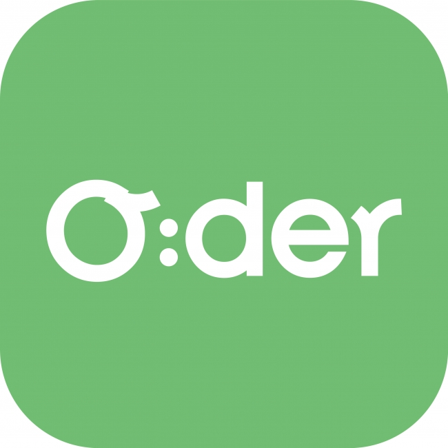 フードメディア(FoodMedia)が提供するO:derのアプリアイコン
