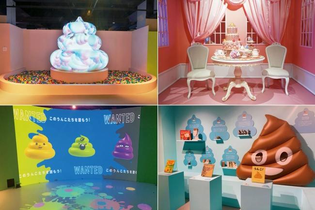「うんこミュージアム YOKOHAMA」は、うんこをただ見るだけではなく、触って、叫んで、戯れて、撮影もできる新感覚の体験型展示として、様々なウンターテイメント