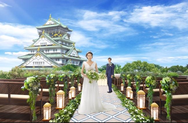天守閣が目の前、大阪城に一番近いレストラン・パーティ施設 ...