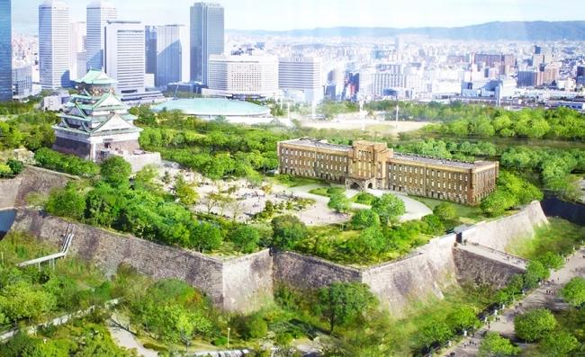ニューヨークスタイルの屋上スノードームBarが大阪城公園内に ...