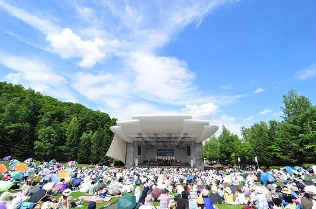 札幌芸術の森・野外ステージ