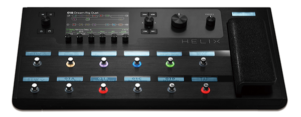 Line 6ギタープロセッサー『Helix』