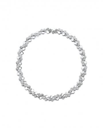 ティファニー ペーパーフラワー ダイヤモンド クラスター ネックレス[プラチナ、ダイヤモンド]¥9,900,000(税別)